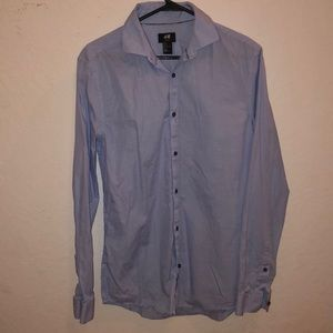 H&M Blue dress shirt